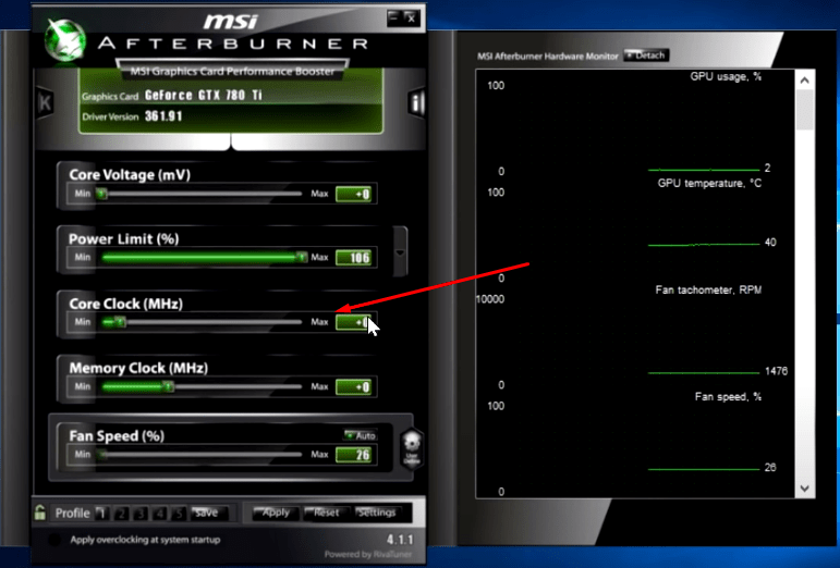How to Overclock Your Graphics Card - Benchmarking Graphics Card MSI - pcfied.com