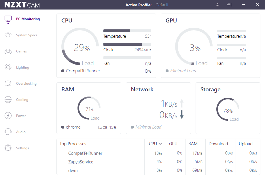 How to check your PC's CPU Temperature using NZXT CAM - pcfied.com