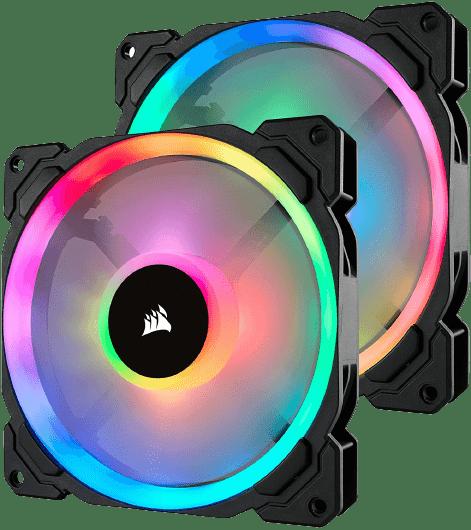 Best 140mm LED Case Fan -Corsair LL Series LL140 RGB