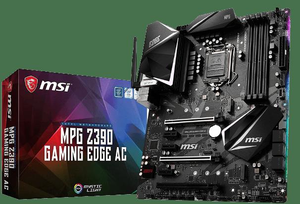 Best MSI Gaming Motherboard for i7 9700K - MSI MPG Z390 Gaming Edge
