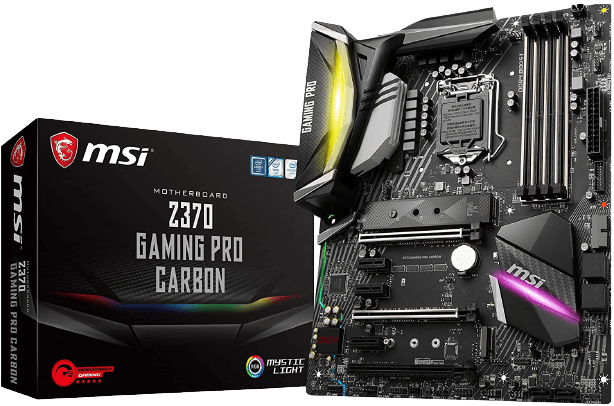 Best MSI Motherboard for i7 8700K - MSI Z370 GAMING PRO CARBON AC