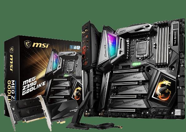 Best Motherboard for i7 8700k Overclocking - MSI MEG Z390 GODLIKE